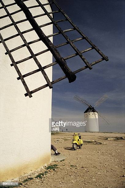 The Route of Don Quijote Windmills in Campo de Criptana Ciudad Real The Route of Don Quijote travels the places characterized by Cervantes in its...