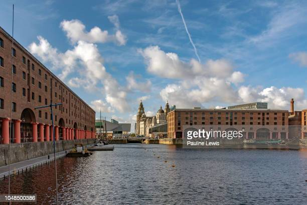 the royal albert dock, liverpool uk - liverpool england stock pictures, royalty-free photos & images