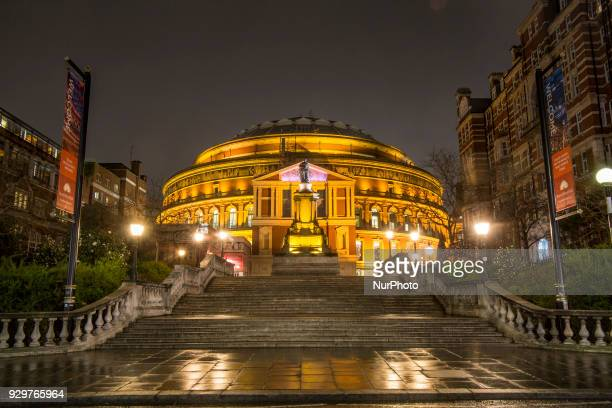 The Royal Albert Hall the famous concert hall in South Kensington in London It was constructed in 1871 since then the world's leading artists...