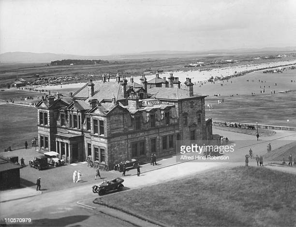 The Royal Ancient Golf Club at St Andrews Scotland circa 1910