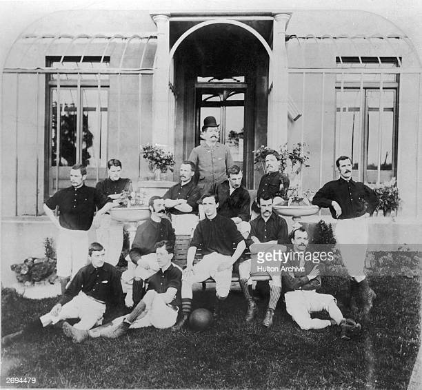 The Royal Arsenal football squad Previously known as Dial Square and then Woolwich Arsenal the team became known simply as Arsenal in 1914