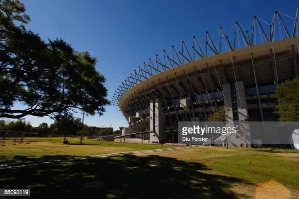 The Royal Bafokeng Sports Palace Stadium one of the venues for the 2010 FIFA World Cup on May 30 2009 in Rustenburg South Africa