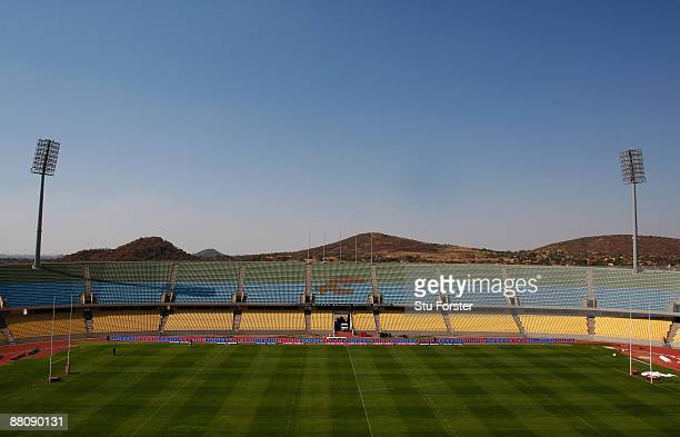 The Royal Bafokeng Sports Palace Stadium one of the venues for the 2010 FIFA World Cup on May 29 2009 in Rustenburg South Africa
