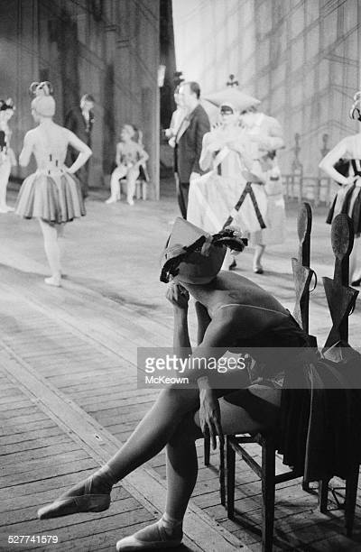 The Royal Ballet during rehearsals at the Royal Opera House in Covent Garden London 14th August 1958
