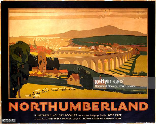 The Royal Border Bridge at Berwick Upon Tweed is one of the iconic structures on the route of the Flying Scotsman Designed by Robert Stephenson Queen...
