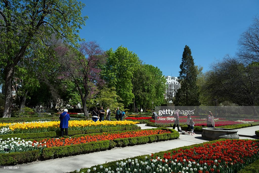 The Royal Botanical Gardens, Madrid, Spain