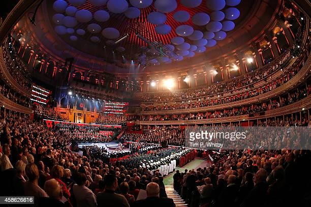 The Royal British Legion's Festival of Remembrance matinee performance at Royal Albert Hall on November 8, 2014 in London, England.