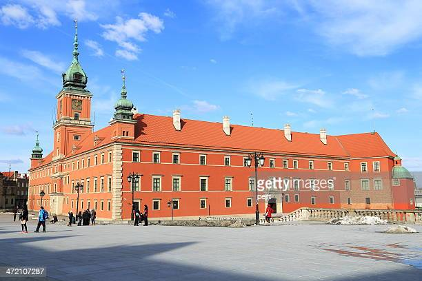 the royal castle square, warsaw - pejft stock pictures, royalty-free photos & images