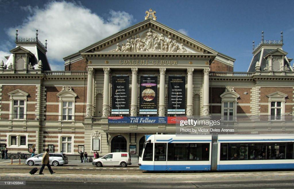 The Royal Concert Gebouw building in Amsterdam, Netherlands : Foto de stock