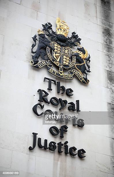 royal courts of justice em londres - royal courts of justice imagens e fotografias de stock