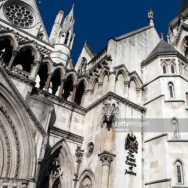 royal courts of justice-londres - royal courts of justice imagens e fotografias de stock