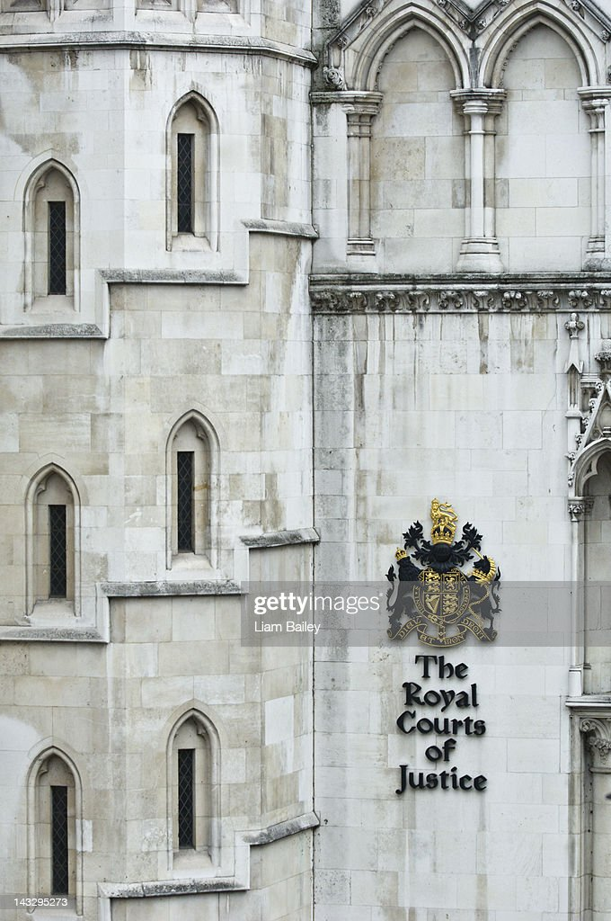 The Royal Courts of Justice : Stock Photo