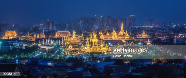 The Royal Crematorium for HM King Bhumibol Adulyadej at Sanam Luang. After the ceremony was...