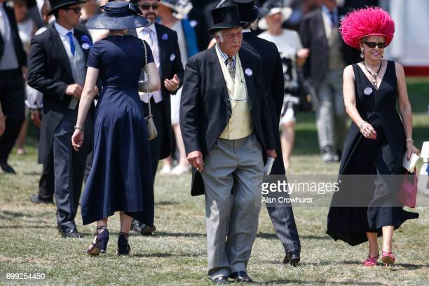 The Royal Enclosure on day 2 of Royal Ascot at Ascot Racecourse on June 21 2017 in Ascot England
