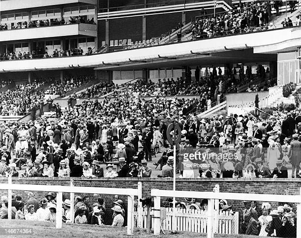 The royal enclosure on the first day of Royal Ascot, 19th June 1973.