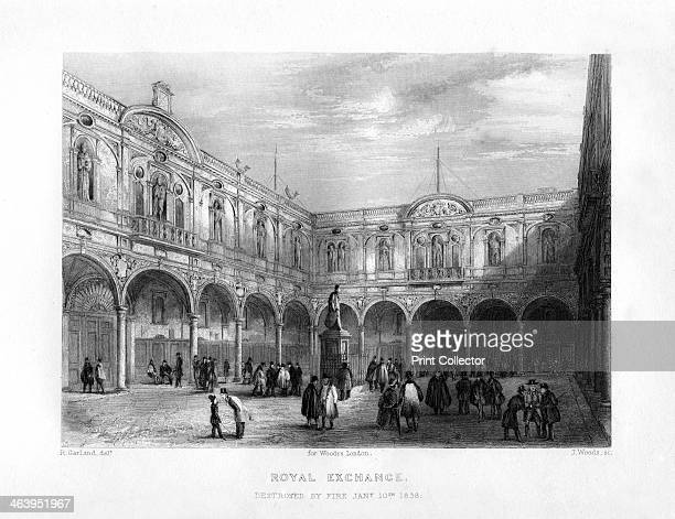The Royal Exchange London 19th century