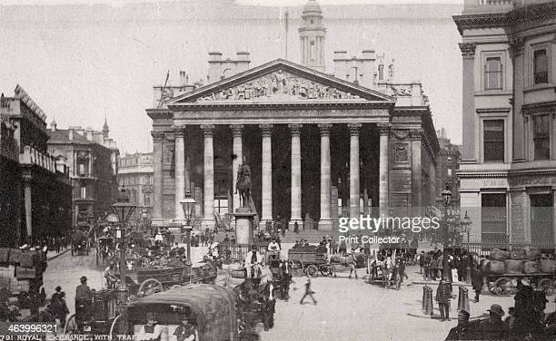 The Royal Exchange London late 19th or early 20th century The Royal Exchange in the City of London was founded in 1565 by Sir Thomas Gresham to act...
