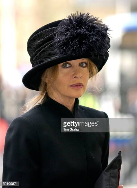 The Royal Family And Friends Returned To Westminster Abbey Today For A Memorial Service To Celebrate The Life Of Princess Margaret Anouska Hempel One...