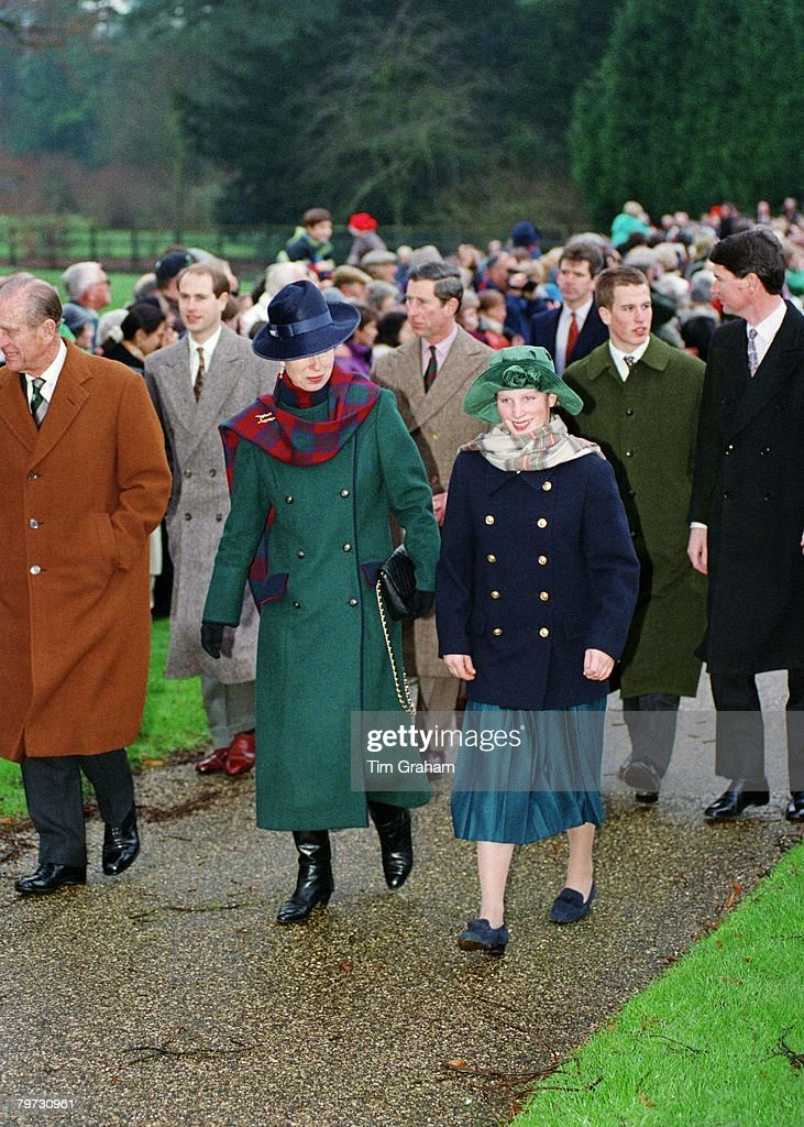 The Royal Family attending Christmas Day Service at Sandring : News Photo