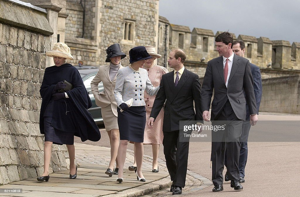 Royals Attend Easter Service : News Photo