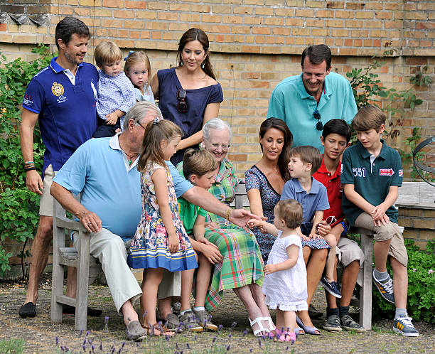 The danish royal family hold annual summer photocall photos and the royal family attends the annual summer photocall for the royal danish family at grasten castle sciox Image collections