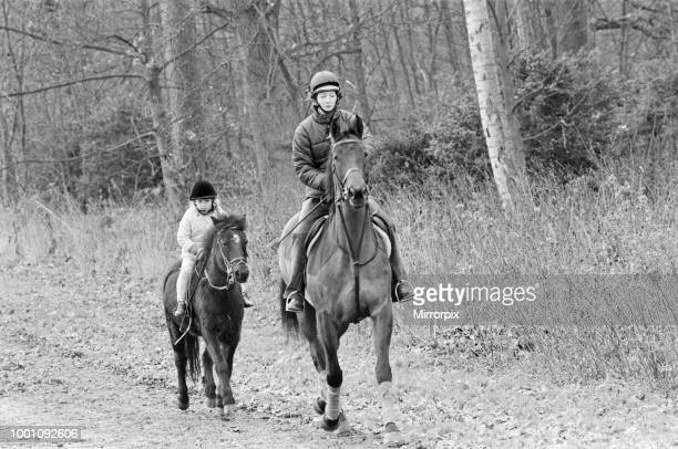The Royal Family leave St Mary Magdalene Church, Sandringham, Norfolk, after their annual Holiday season church service. Picture shows Zara Phillips...