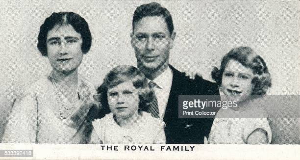 The Royal Family' number 2 of 50 from the 'Our King And Queen' cigarette cards produced for WD HO Wills The Imperial Tobacco Company 1937 A portrait...