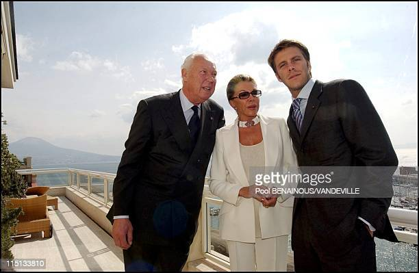 The Royal Family of Savoy in Naples Italy on March 17 2003