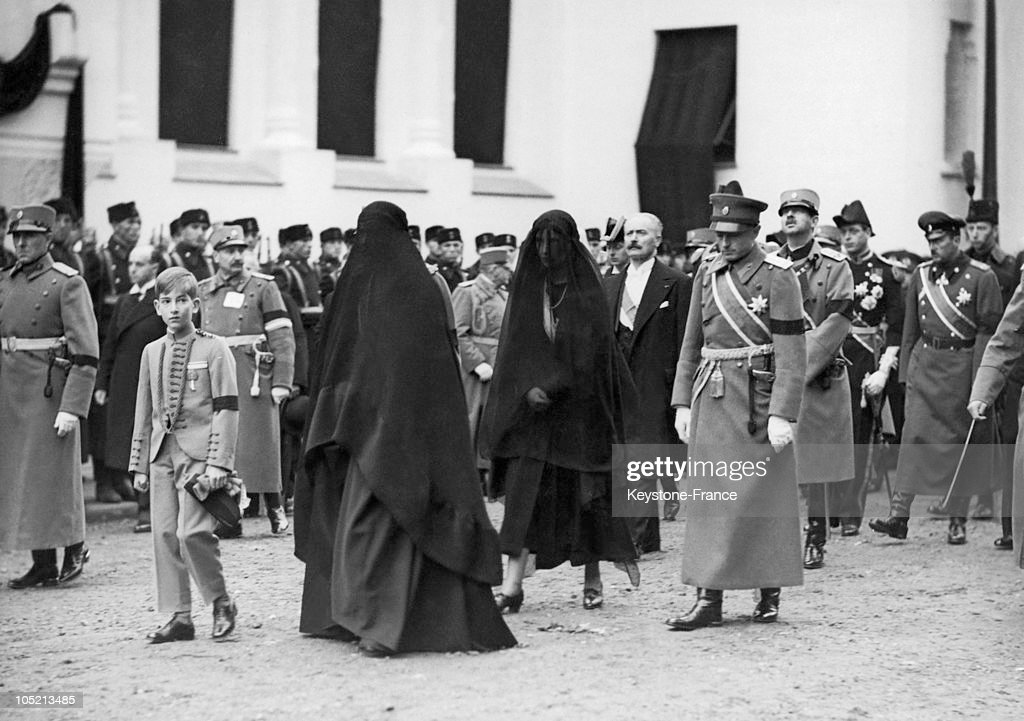 The Funeral Of King Alexander 1St Of Yugoslavia In Belgrade In 1934 : News Photo