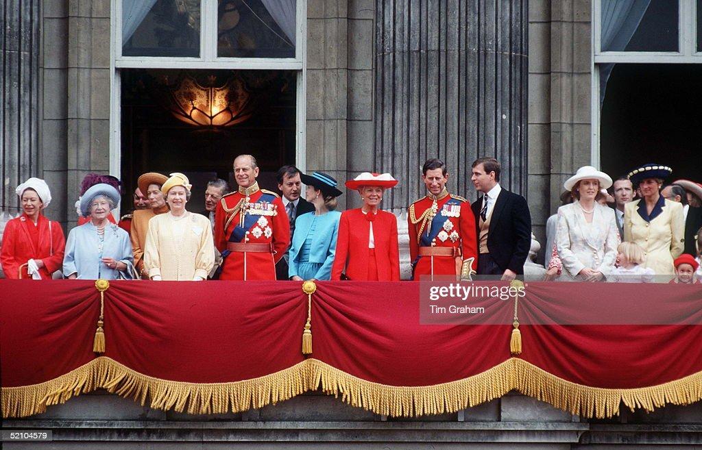 Royal Group Trooping : News Photo