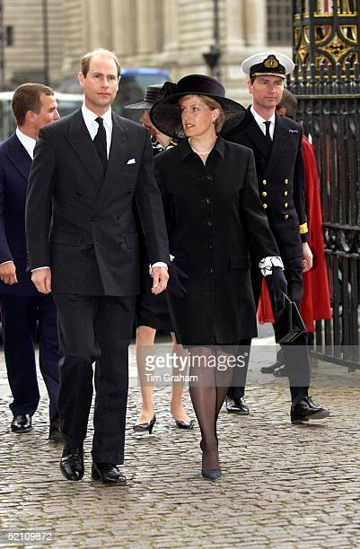 The Royal Family Returned To Westminster Abbey Today For A Memorial Service To Celebrate The Life Of Princess Margaret The Earl Of Wessex And His...