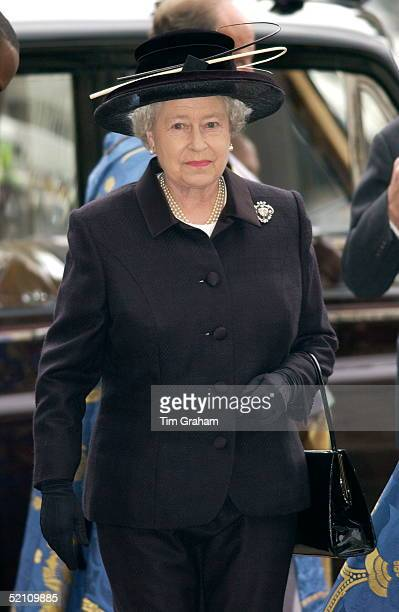 The Royal Family Returned To Westminster Abbey Today For A Memorial Service To Celebrate The Life Of Princess Margaret Queen Elizabeth II Looking...
