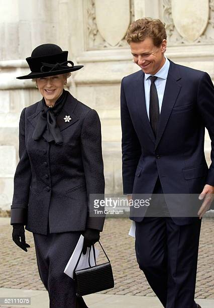 The Royal Family Returned To Westminster Abbey Today For A Memorial Service To Celebrate The Life Of Princess Margaret Princess Alexandra With Her...
