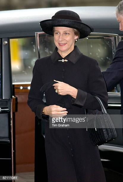The Royal Family Returned To Westminster Abbey Today For A Memorial Service To Celebrate The Life Of Princess Margaret The Duchess Of Gloucester...