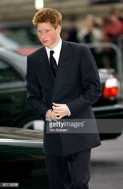 The Royal Family Returned To Westminster Abbey Today For A Memorial Service To Celebrate The Life Of Princess Margaret Prince Harry In Dark Suit And...
