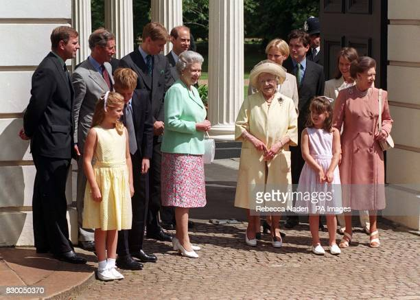 The Royal Family The Duke of York The Prince of Wales Prince William Prince Edward Zara Phillips Daniel Chatto and wife Lady Sarah Princess Beatrice...
