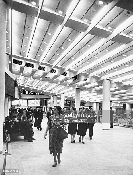 The Royal Festival Hall in London circa 1951