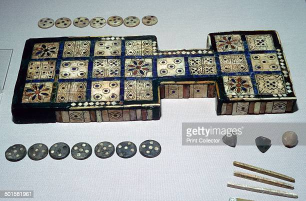 The Royal Game of Ur from Ur southern Iraq c2600c2400 BC This game board is one of several with a similar layout found by Leonard Woolley in the...