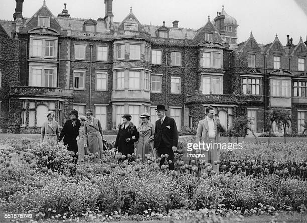 The royal gardens of Sandringham House are now available to the public 22th May 1936 Photograph