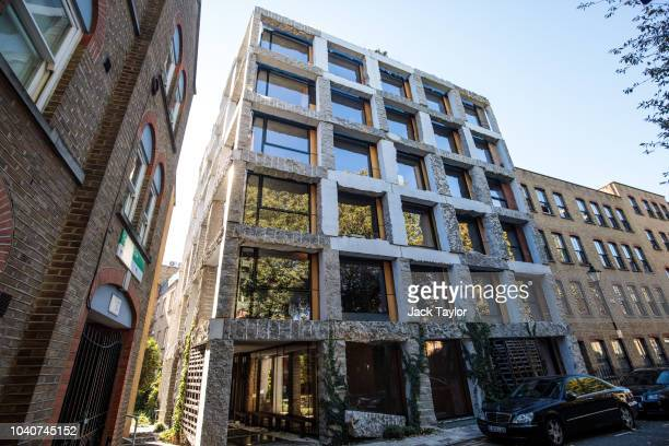 The Royal Institute of British Architects award-winning 15 Clerkenwell Close stands in Islington on September 26, 2018 in London, England. Architect...