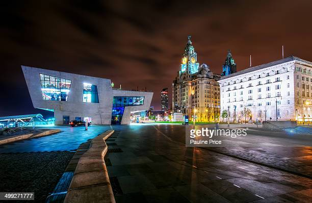 The Royal Liver Building, Liverpool, England.