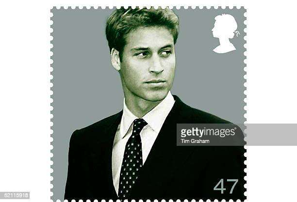 The Royal Mail Stamps To Mark Prince William's 21st Birthday