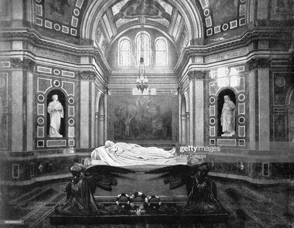 The Royal Mausoleum Frogmore 1901 Near Windsor Castle In Berkshire