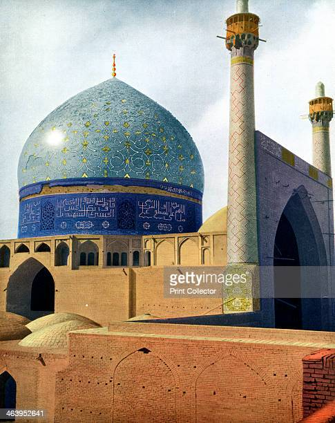 'The Royal Mosque at Isfahan' 1931 The Shah Mosque in Isfahan Iran was renamed the Imam Mosque after the revolution Illustration from Apollo A...
