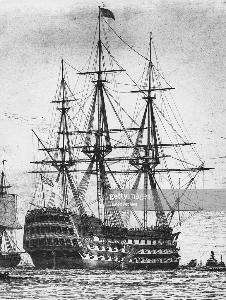 Gladius War System 1.0 The-royal-navy-first-rate-ship-of-the-line-hms-victory-circa-1800-the-picture-id97364127