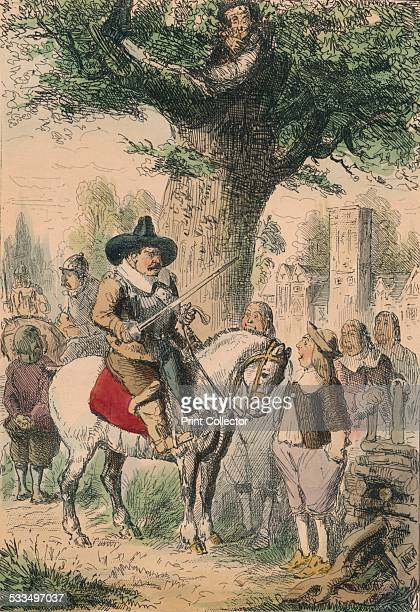 The Royal Oak the Penderell Family have no idea where Charles is 1850 A satirical illustration of King Charles II escaping into exile King Charles II...