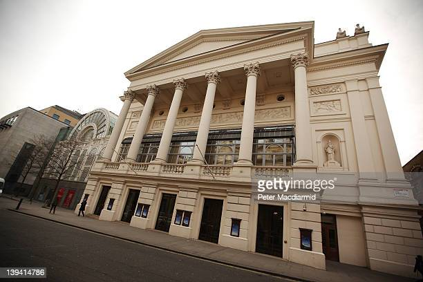 The Royal Opera House at Covent Garden on February 20 2012 in London England