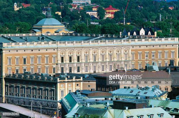The Royal Palace , 1697-1760, old town , Stockholm, Sweden.