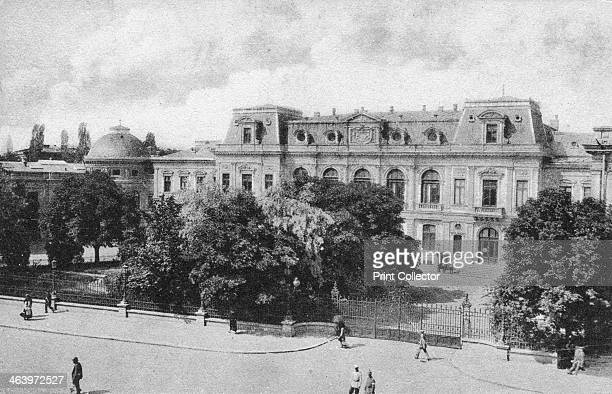 The Royal Palace at Bucharest Romania early 20th century