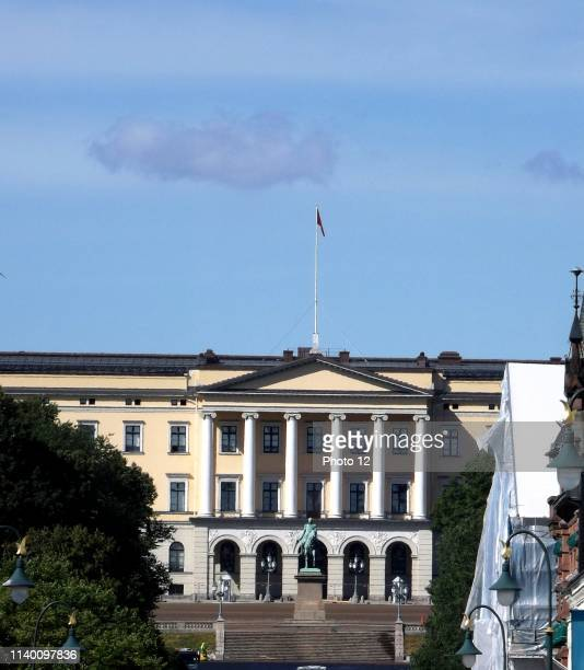 The Royal Palace in Oslo was built in the first half of the 19th century
